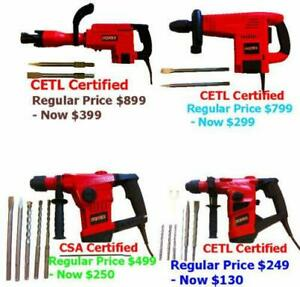 SDS-PLUS Rotary Hammer Drill CAD$130.00 Mississauga / Peel Region Toronto (GTA) Preview