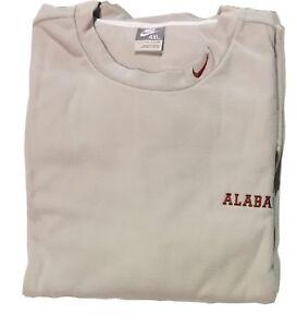 NWT-Nike-Men-039-s-Alabama-Football-Crew-Fleece-Sweatshirt-Grey-4XL-762857-009-R10