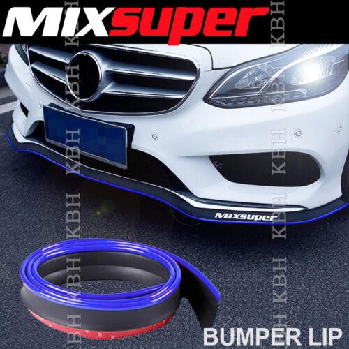 MIXSUPER Rubber Bumper Lip Splitter Chin Spoiler EZ Protector BLUE for Dodge