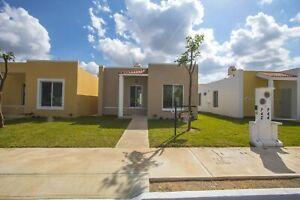 Casa en venta en Residencial Sian Kaan IV en Mérida, Yucatán con 2 recamaras.