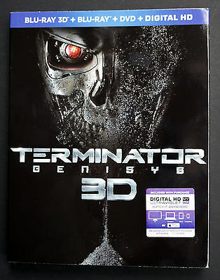 Terminator Genisys (2015) Slipcover ONLY