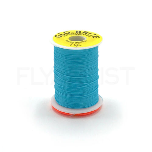 25 Yd Spool NEW! VENIARD GLO-BRITE FLOSS Fly Tying Fluorescent /& Neon Colors