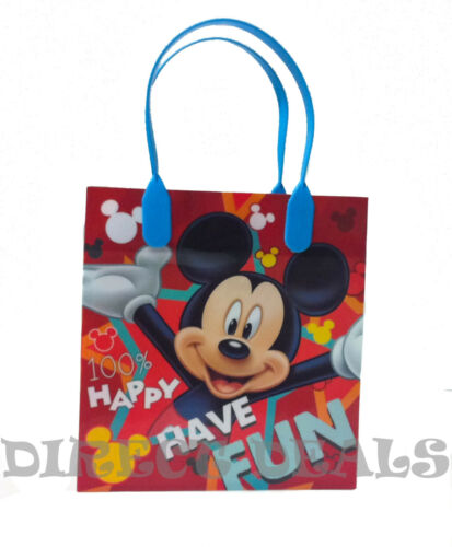 Disney Mickey Mouse 24 PCS Party Favors Gift Toy Bags Birthday Candy Treat Loot