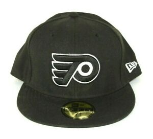 Philadelphia-Flyers-New-Era-59FIFTY-Fitted-Hat-Cap-7-3-8-Black