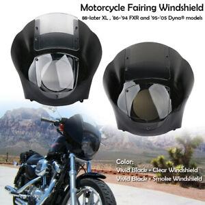 Scheinwerfer-Verkleidung-Fairing-Kit-Fuer-Harley-Dyna-95-05-Sportster-XL-88-UP