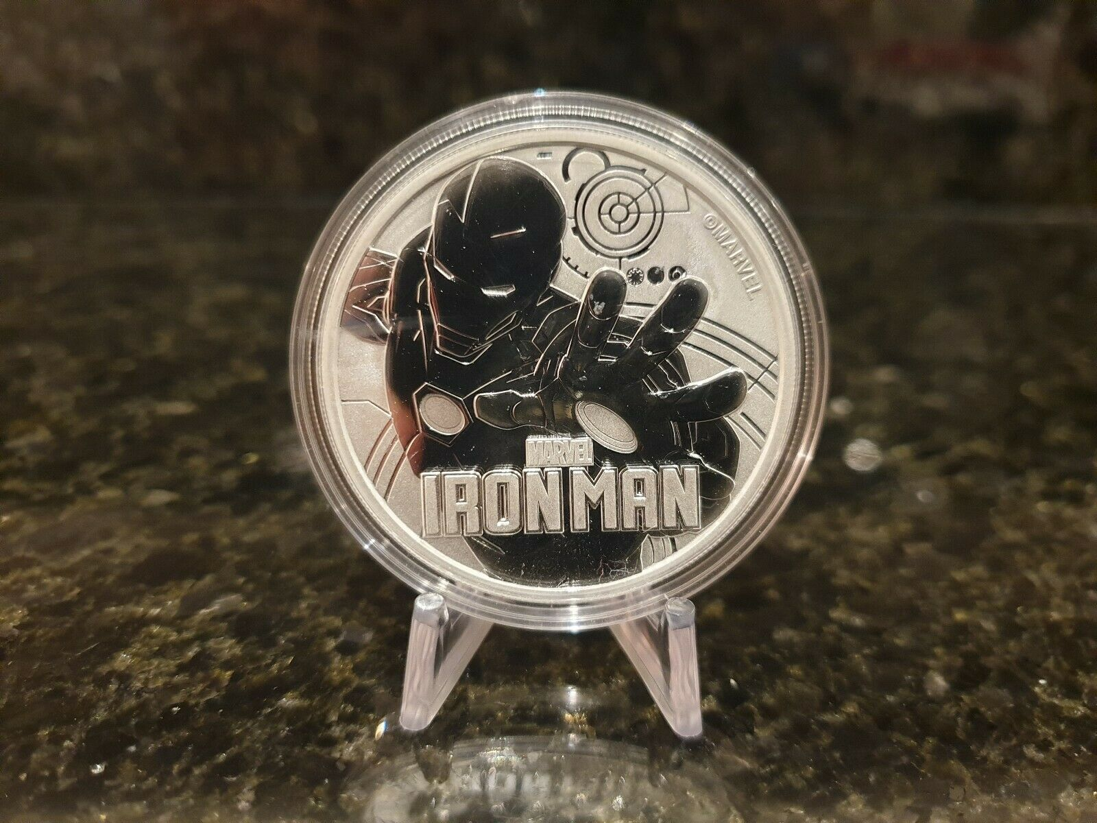 Ironman Marvel Coin, xm studios, sideshow collectibles, Ironstudios, ironman