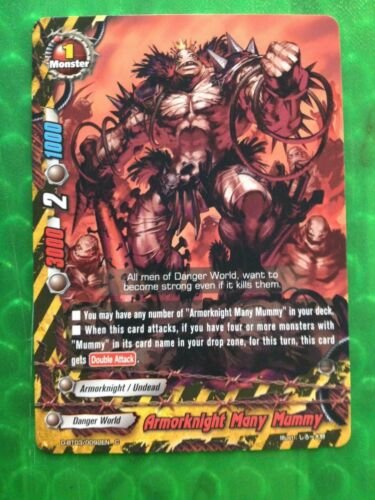 4X Buddyfight English D-BT03/0092EN C Armorknight Many Mummy