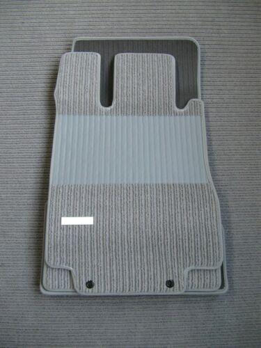 NEU GRAU Rips Fußmatten passend für Mercedes Benz C215 S-Klasse Coupe AMG