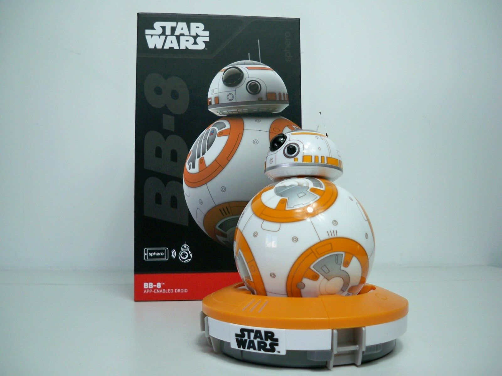 D0505141 BB8 SPHERO DROID REMOTE CONTROLLED ELECTRONIC LOOSE STAR WARS