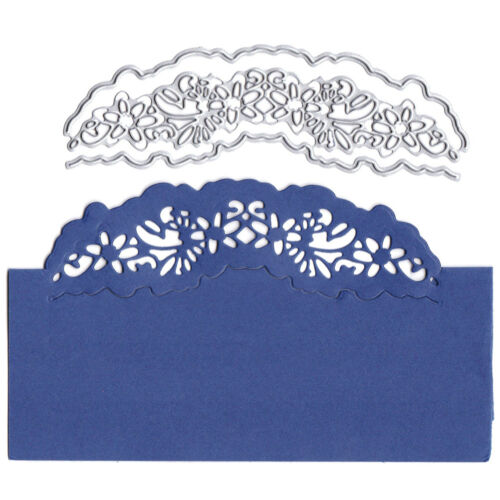 Card lace decor Metal Cutting Dies for DIY Scrapbooking Album Embossing CraBLCA