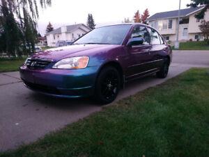 2002 1.7 Honda Civic Custom Paint