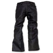 686 Reserved Raw Wax Mens Snowboard Pants  X-Large Black Wax Denim - RETAIL $230