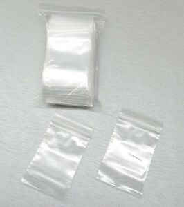 Image Is Loading 100 2 034 X3 Ziplock Bags Clear
