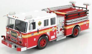 EDICOLA 1/43 SEAGRAVE   PUMPER TRUCK FIRE DEPARTMENT NEW YORK - USA - 2003   ...