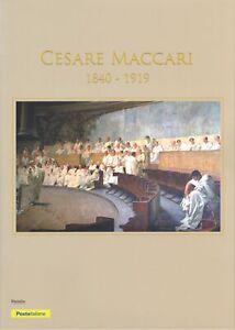 2019-ITALIA-Folder-Cesare-Maccari-1-200-Tiratura-MNH