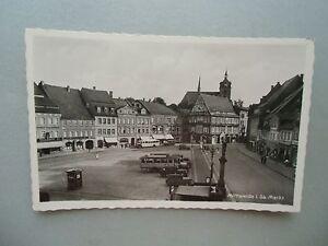 Ansichtskarte-Mittweida-i-Sa-Markt-30-40er