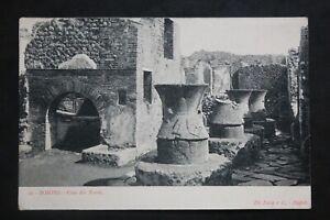 Tarjeta-Postal-Antigua-Pompeya-Casa-Dei-Forni