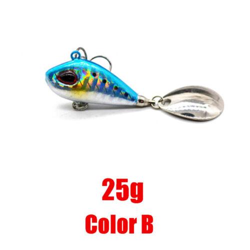 Lebensechte Fischköder Swimbait VIB Harte Köder Fisch Drillingsgerät 5 Farben vf