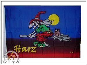 HALLOWEEN HEXE II Fahne Flagge 90 x 150