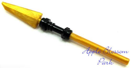 Ninja Skeleton Minifig Spinjitzu Pike Golden Weapon NEW Lego Ninjago GOLD SPEAR
