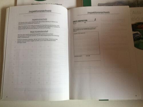 LAND ROVER FREELANDER 2000 manuale con cartella manuale di istruzioni bordo libro BA
