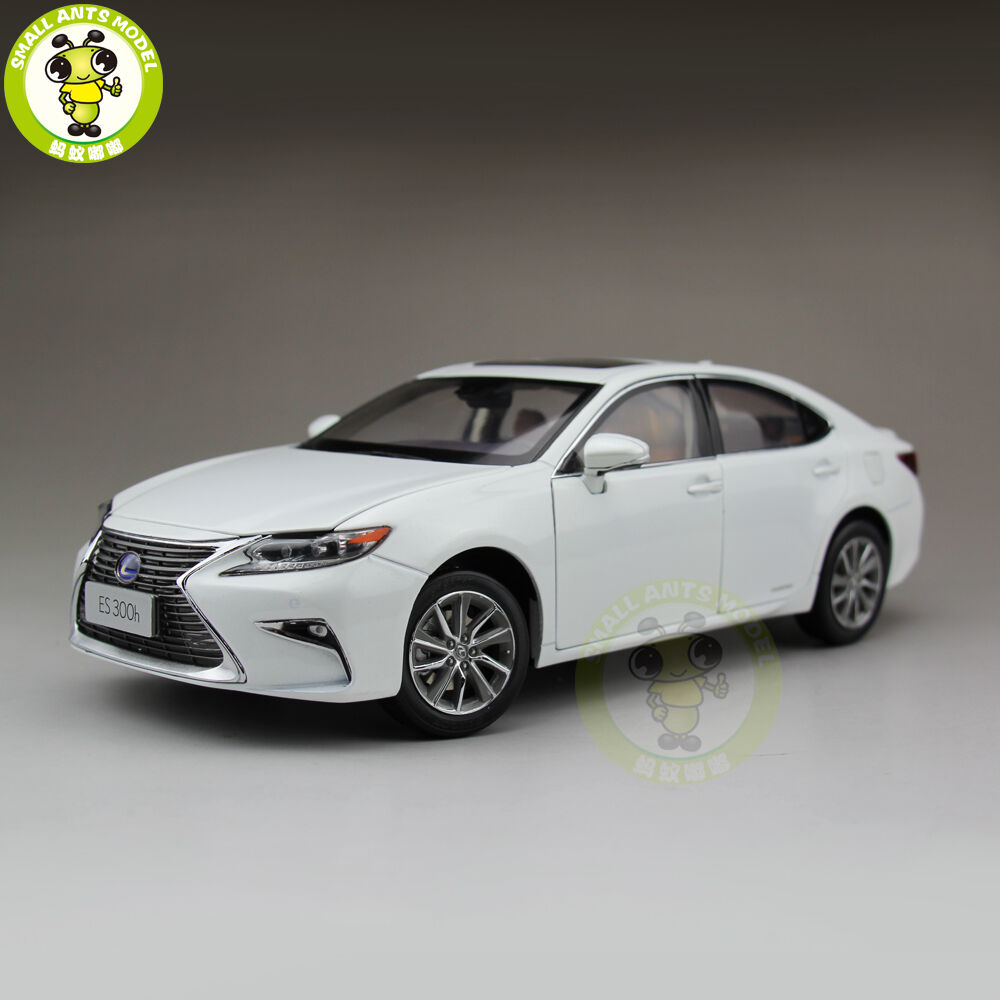 1 18 Toyota Lexus ES 300 ES300H Diecast Model Car hobby collection Gifts blanc
