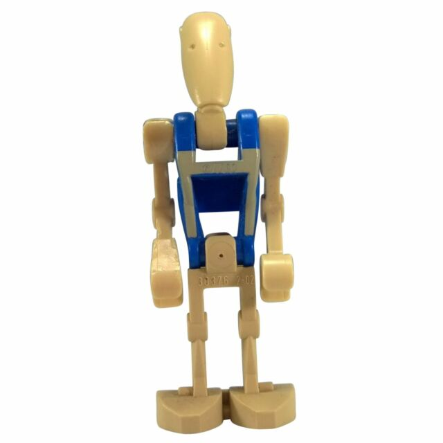 LEGO STAR WARS PILOT BATTLE DROID BLUE TORSO FIGURE NEW GIFT 7958-2011