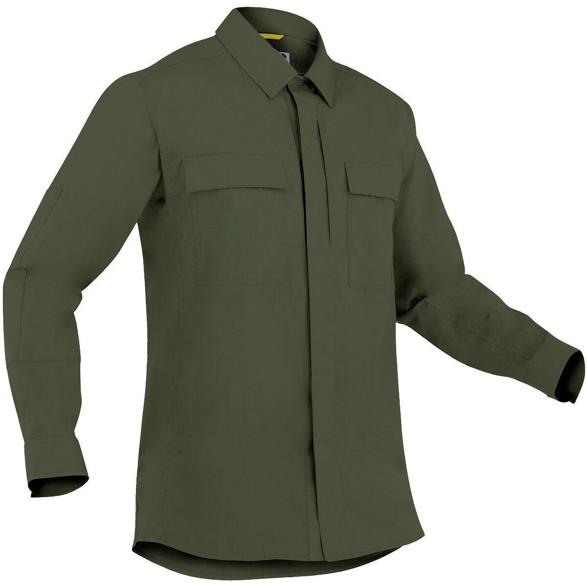 First Tactical Mens Specialist Long Sleeve BDU Shirt Airsoft Duty Top OD Green
