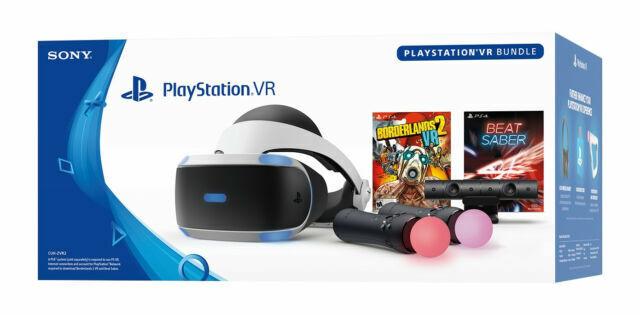 Sony Playstation Vr Borderlands 2 Vr And Beat Saber Bundle For Sale Online Ebay