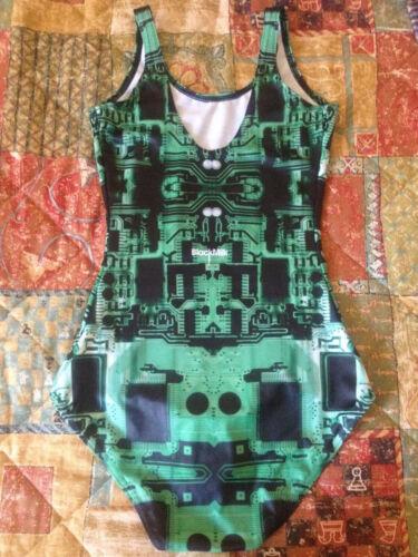 verde Costume Black Board Xs Milk da Circuit Blackmilk Taglia Clothing bagno 1qwaI0