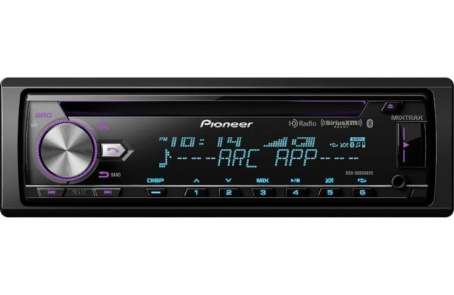 Pioneer DEH-X8800BHS CD/MP3/USB Player Bluetooth HD Radio Siri Eyes MIXTRAX New
