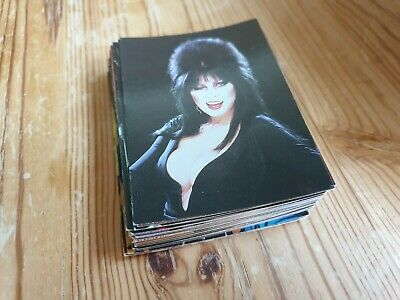 Various 1997 Comic Images Elvira: Mistress of Omnichrome Trading Cards