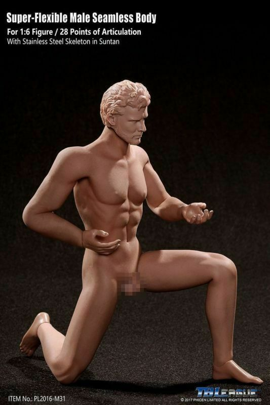 TBLeague Phicen 1 6th M30 M31 M32 M33 M34 M34 M34 Male Seamless Muscular Action Figure aaa113