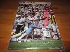 Vintage Late 70s EARL CAMPBELL No. 34 HOUSTON OILERS Sports Illustrated Poster
