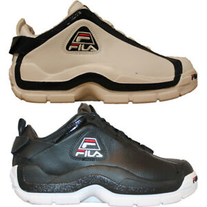 Details about Mens Fila 96 Lo Grant Hill Retro Classic Low Top Basketball Shoes White or Black