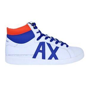 Armani-Exchange-Scarpe-uomo-sneakers-XUZ007-XV084-bianco