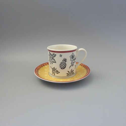 Gallo Design Villeroy /& Boch Switch Plantation Kaffeetasse 2tlg
