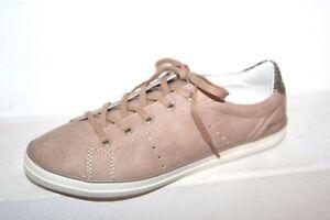 Dockers-Femme-Baskets-sneaker-rose-Chaussures-de-sport-basses