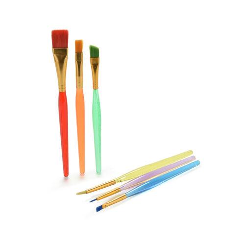 Professionelle Malerei Set 6pcs Acryl Öl Aquarell Künstler Pinsel ZP
