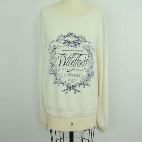 Diplome V12 Paris Wildfox Womens Sz Crest M Sweatshirt D'couture BqI86wq