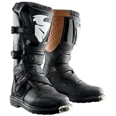 NEW Thor Blitz BLACK//RED Adult Mens MX Sole Motocross Offroad Boots  ALL SIZE