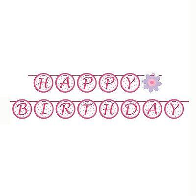 5ft Tutu Much Fun Ballerina Ballet Happy Birthday Party Letter Banner decoration