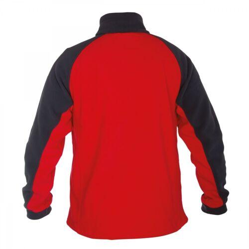 Lavoro Giacca Lavoro Pullover Lahti Pro lpbp 1 Rosso Maglione Zip pullover in pile NUOVO