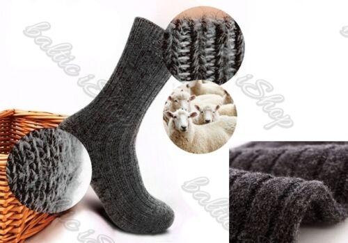 3 Paar Schafwollsocken wollsocken 100/% wolle winter Thermosocken шерстяные носки