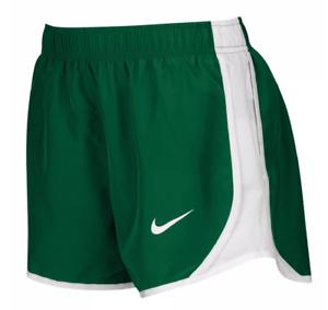 online retailer 9491d db0ac Details about NIKE Green White Original TEMPO Dri-Fit Women s 3