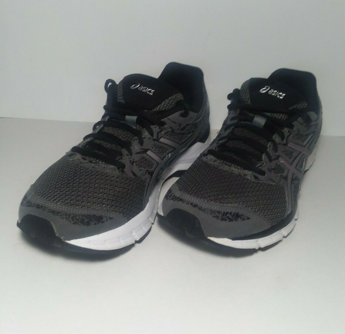 ASICS GEL-Excite 4 Men/'s Wide Running Shoes Gray+Black Athletic Casual T6F0N New