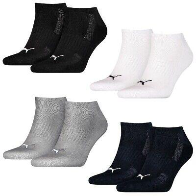 10 Paar Puma Sneaker Socken Frottee Sohle Gr. 35 46 Unisex Cushioned Kurzsocke   eBay