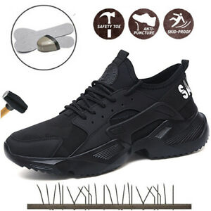 Women-039-s-Sneakers-Safety-Shoes-Work-Steel-Toe-Boots-Indestructible-Bulletproof