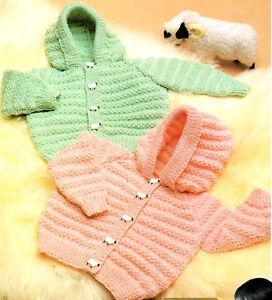 c910da40b288 Baby Hoodie Jacket Hood DK 18 - 24