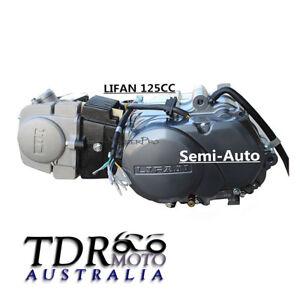 Genuine LIFAN 125cc Semi-auto Clutch Engine Motor PIT PRO TRAIL DIRT BIKE Atomik